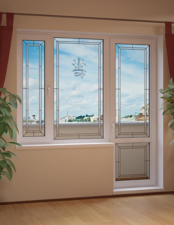 Пластиковые окна цены с монтажом и установкой  Семейные окна